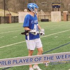 PRLB Player of the Week Powered by FCA Maryland: St. Mary's senior Defense/LSM BJ Burlace